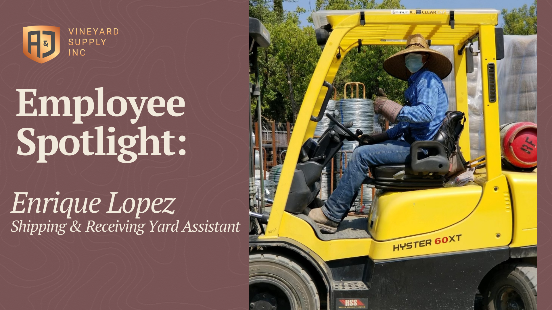 Shipping and Receiving Yard Assistant